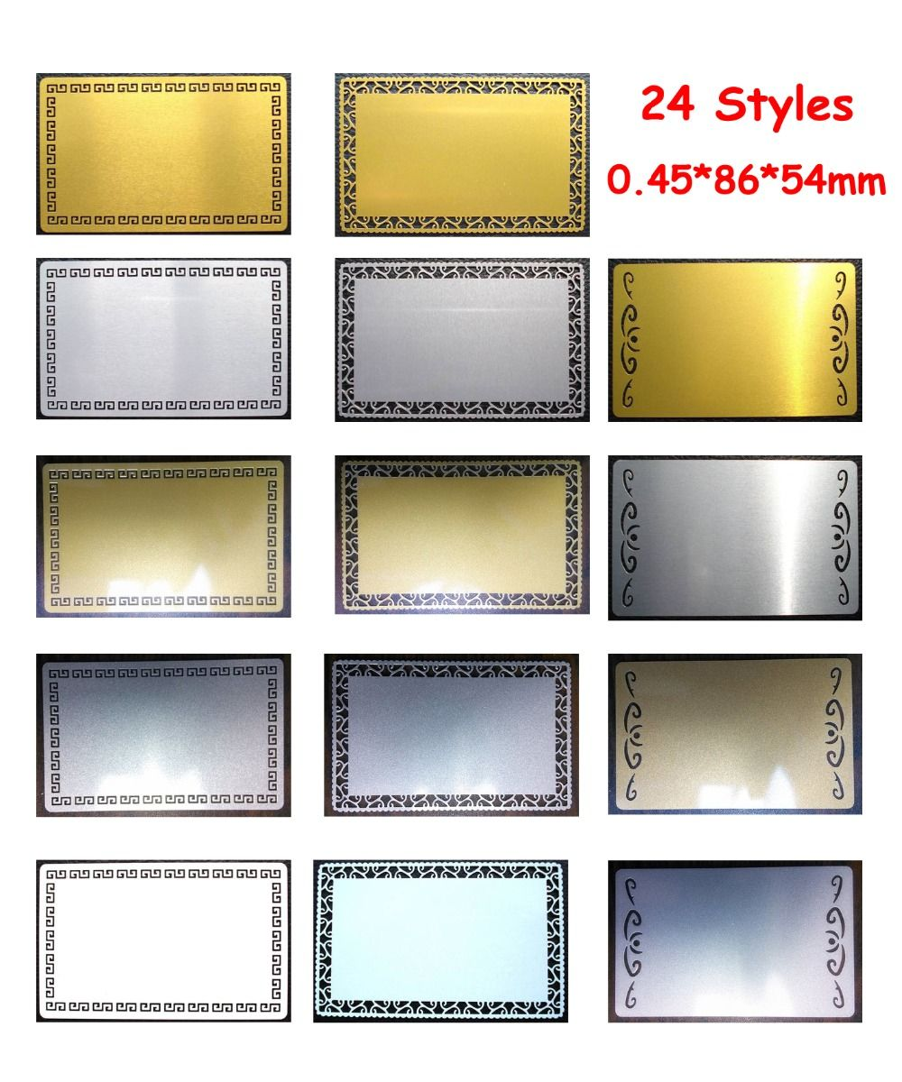 045mm super thickness 100pcs blank sublimation metal name card 045mm super thickness 100pcs blank sublimation metal name card printing blank business card sublimation ink magicingreecefo Choice Image