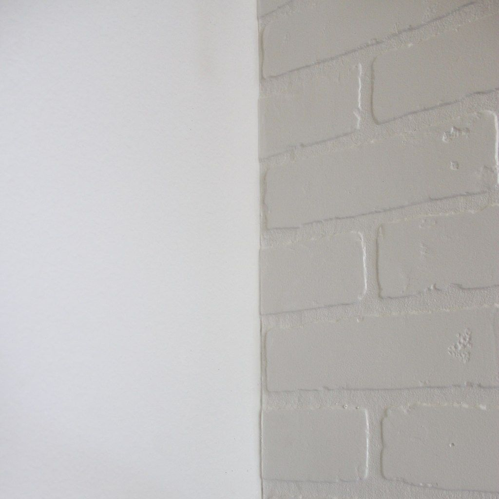 Exposed Brick Accent Wall Over Drywall: DIY Brick Wall - Frills & Drills In 2019