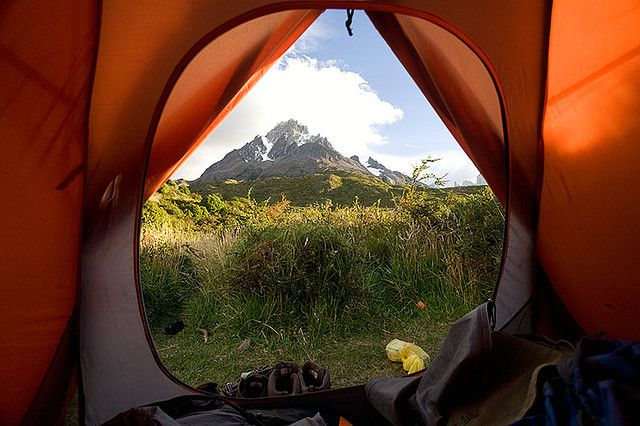 morning view - Torres del Paine trekking, Chile | Flickr - Photo Sharing!