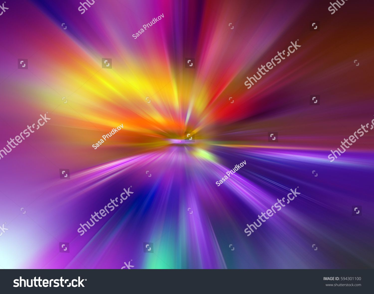 Abstract Background In Purple Pink Yellow Orange And Blue
