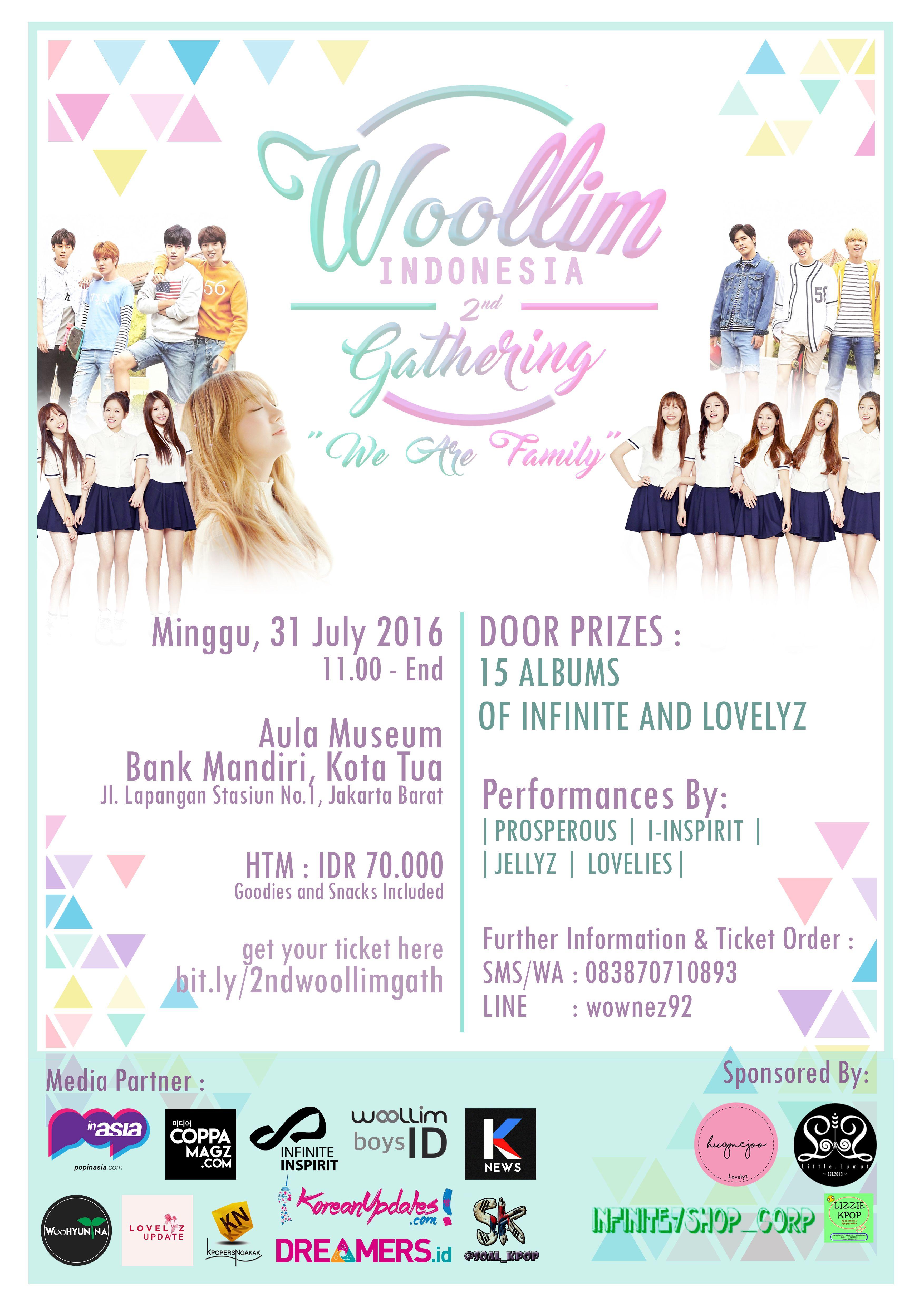 Woollim INA 2nd Anniversary [Sponsorship]