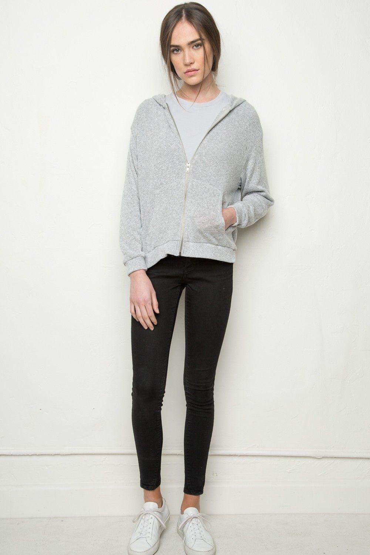 Brandy ♥ Melville | Kassidy Hoodie - Clothing