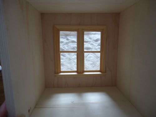 Handmade New Miniature Pine Wood Stackable Room Box Windows Display Box   eBay