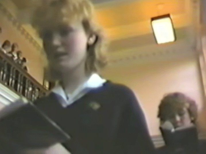 Vintage Footage From Beverley High School Are You In It With