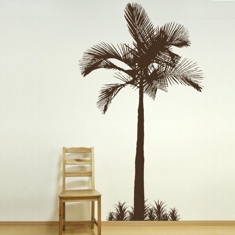 Painting Palm Trees On Walls Tree Wall Stencil