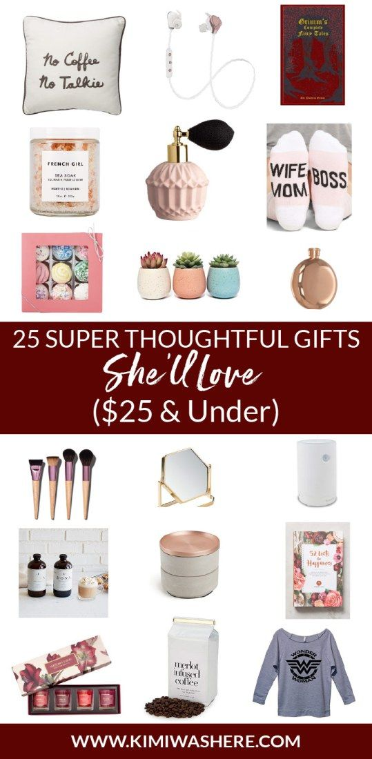 25 Super Thoughtful Gifts She Ll Love 25 And Under Diy