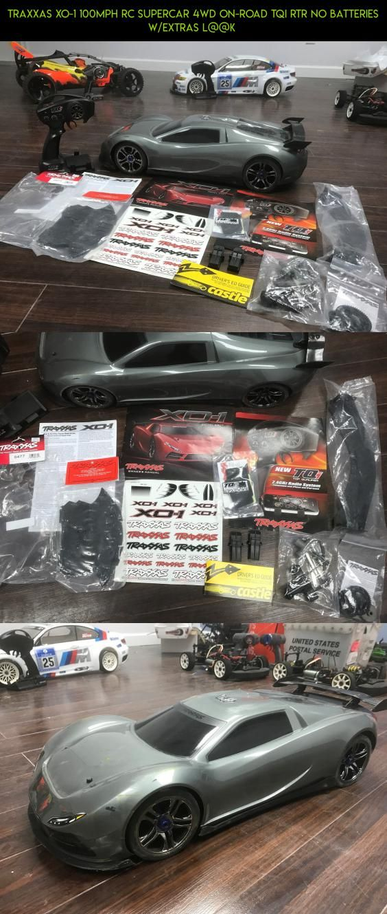 Traxxas XO1 100mph RC Supercar 4WD Onroad TQI RTR No Batteries w