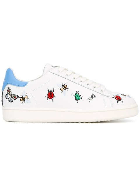 Arts insect patch sneakers