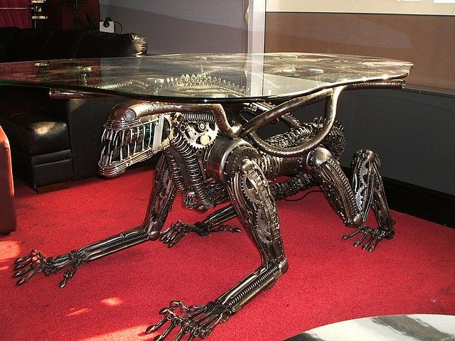 Marvelous Need To Up Your HR Giger Content In Your Life? Get Aliens Furniture! Part 16
