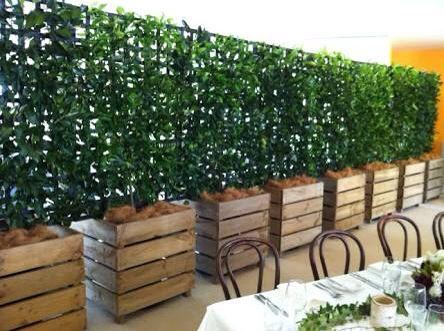 jardineras biombos depto cierre paisajismo grandes plantadores jardineras de madera grandes jardineras macetero de madera