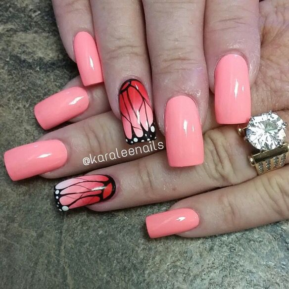 Erfly Affect UÑas Pinterest Pedicure Nail Designs And Glue