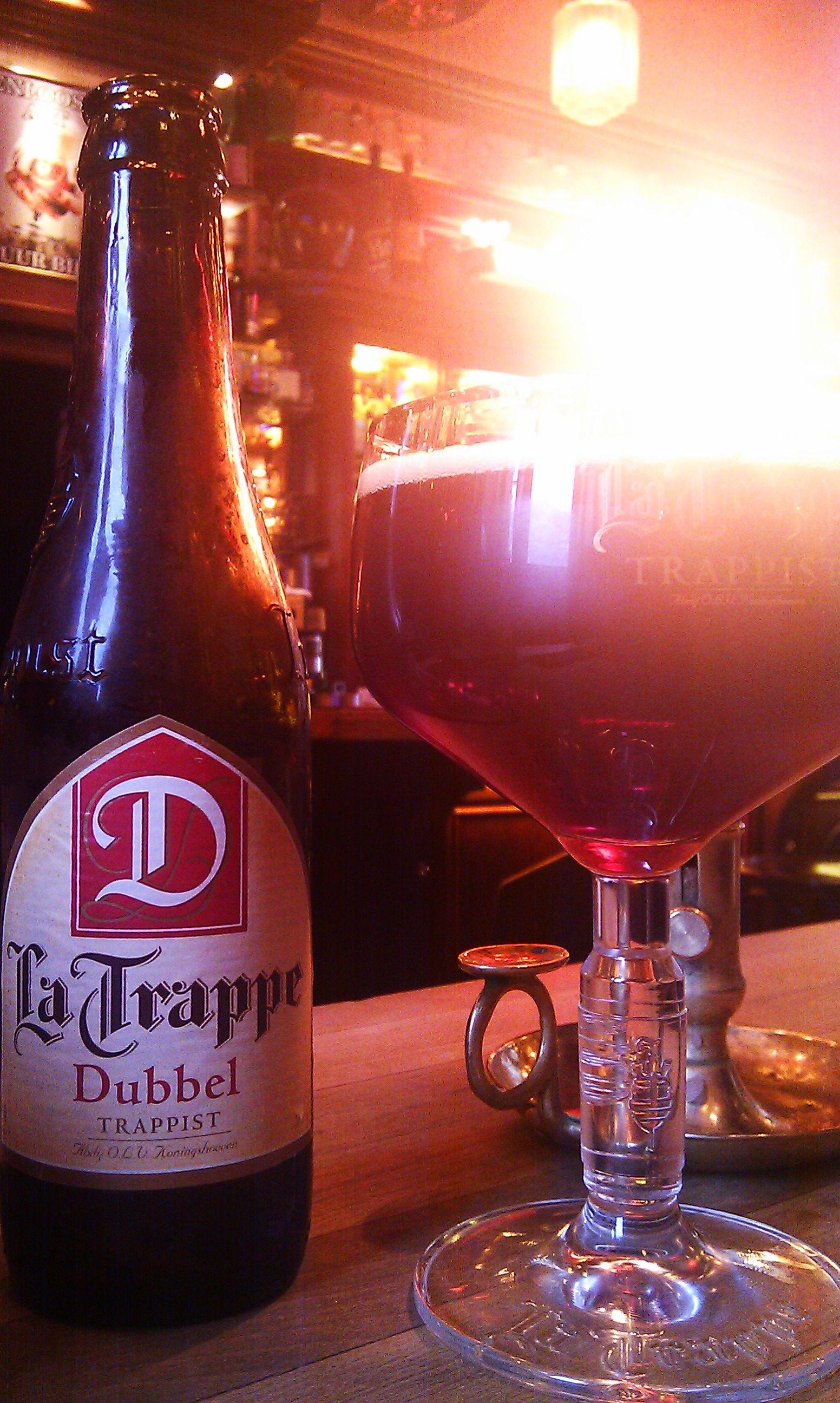 La Trappe Dubbel Trappist Drinking Beer Beer Lovers Beer
