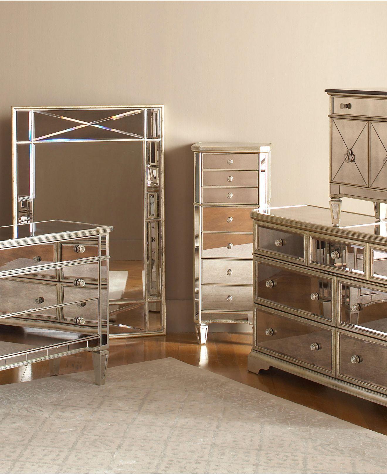 Marais Mirrored Furniture Collection | Pinterest ...