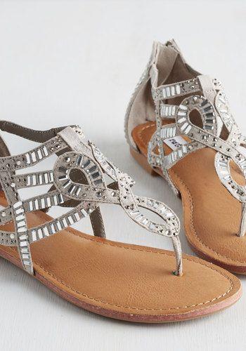 d29f90899b1952 All That Glitters is Bold Sandal in Stone