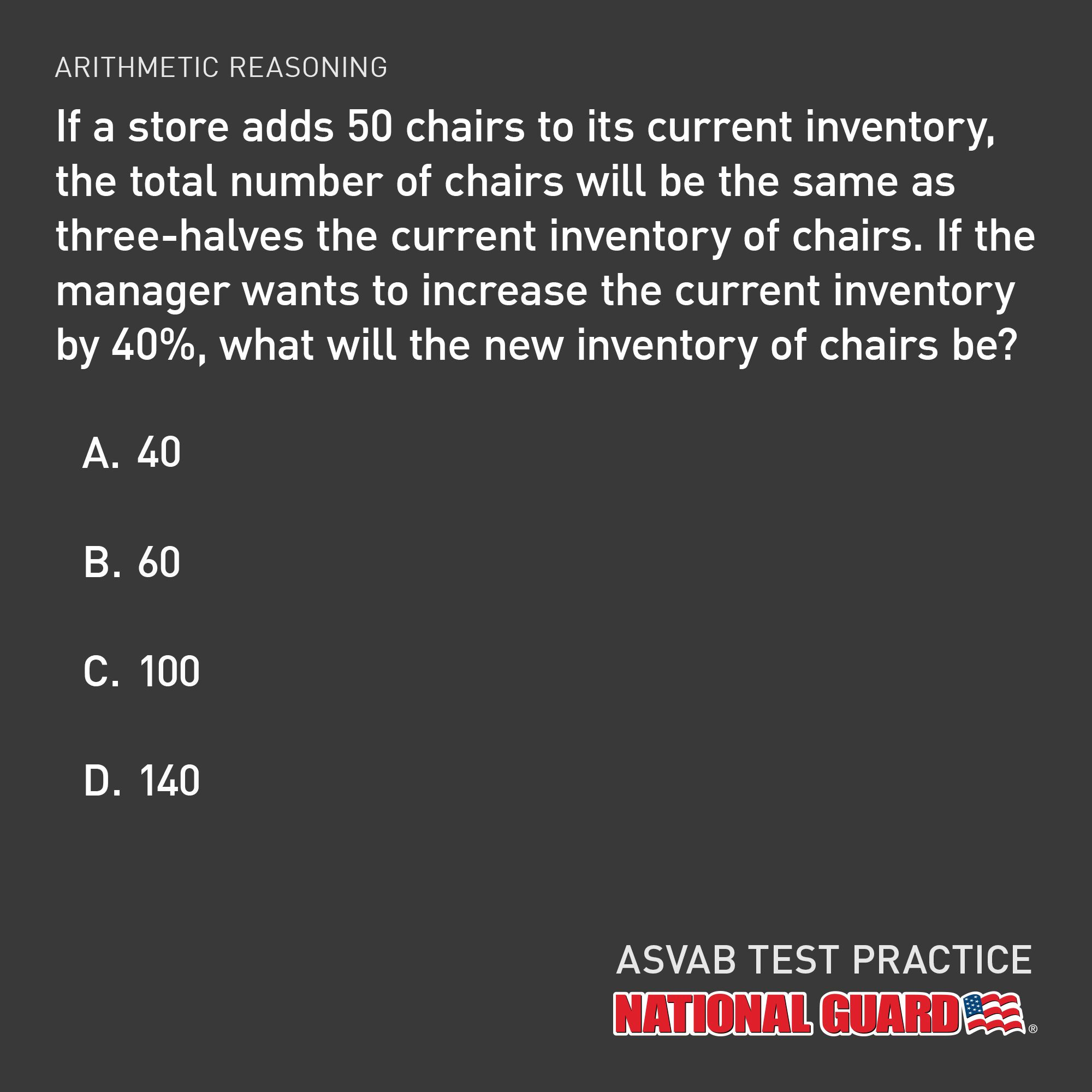 ANSWER! D 140 Army national guard, National guard