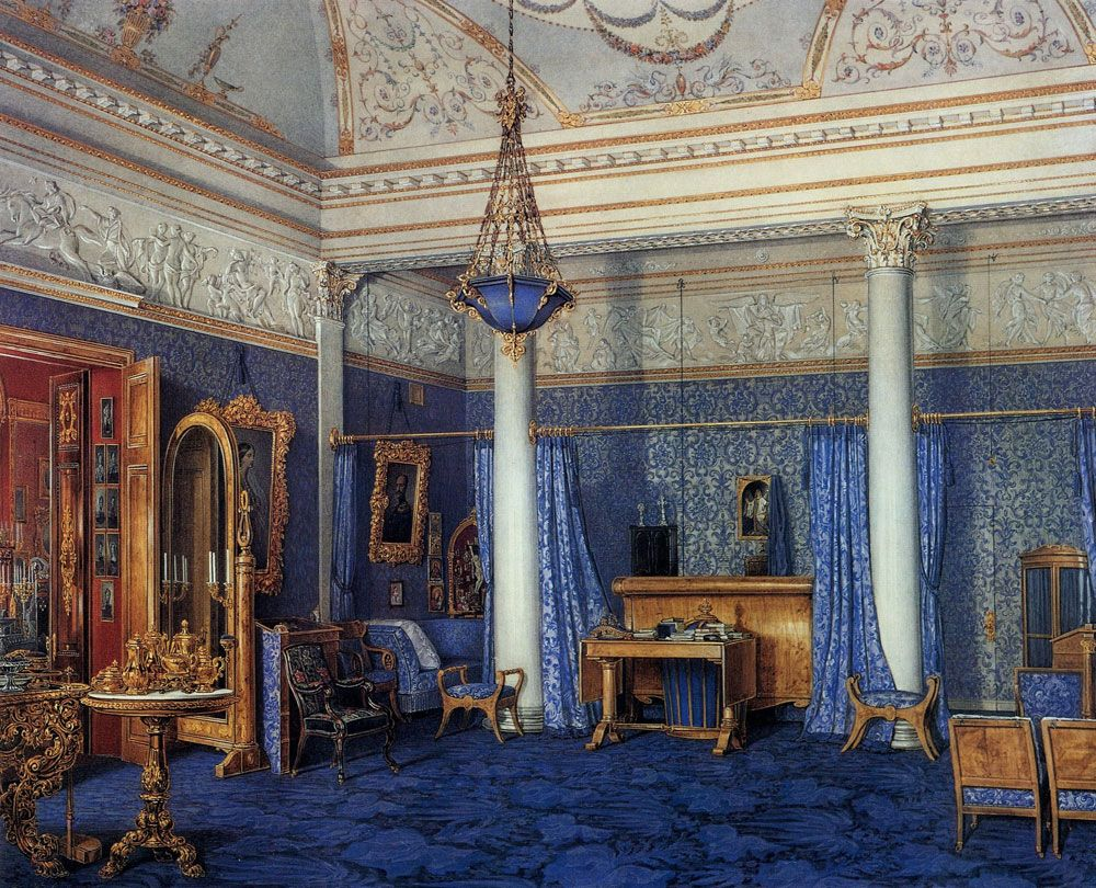 The Suite of Empress Alexandra Feodorovna at the Winter Palace in Saint Petersburg   The Gorgeous Daily
