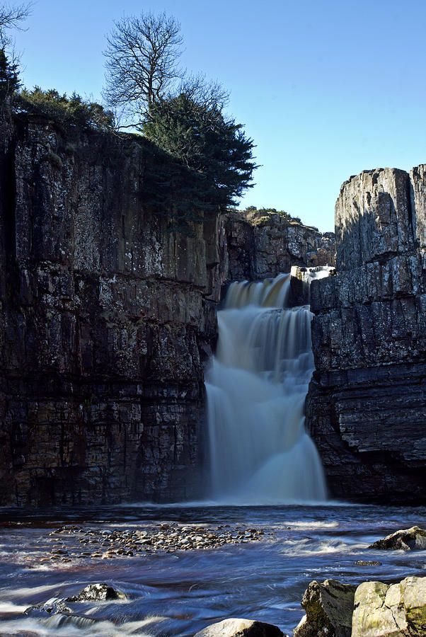 Chutes Victoria: Teesdale, County Durham, England