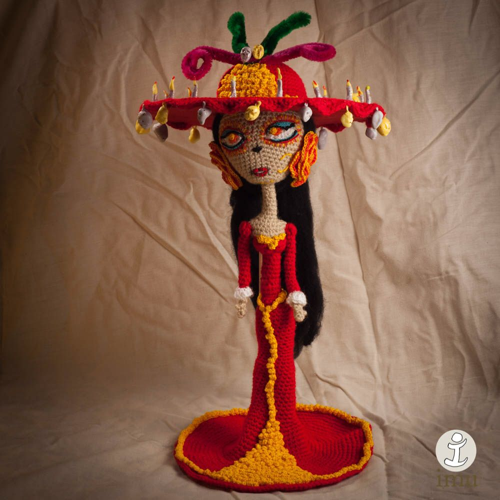 Catrina by Imu Amigurumi | ganchillo mexicano | Pinterest ...