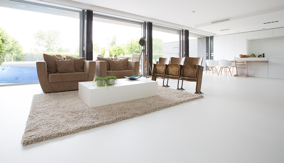 Bio pu gietvloeren huis pinterest flooring modern flooring