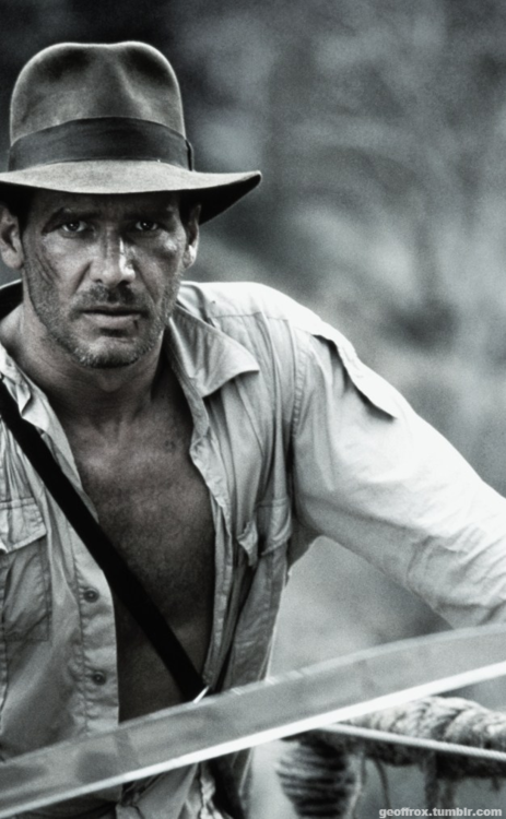 Harrison Ford as Indiana Jones | harrison ford | Pinterest ...