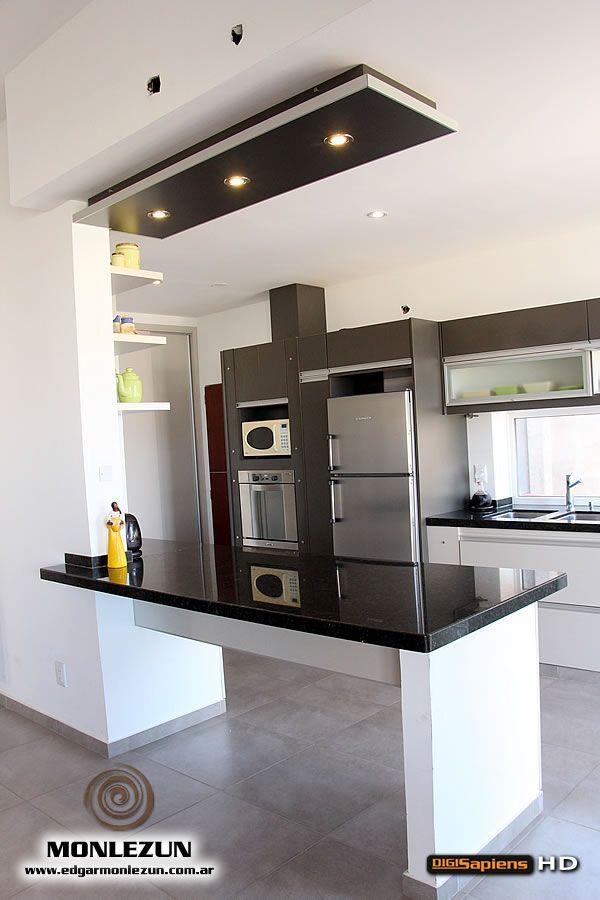 Resultado de imagen para modelos de cocinas peque as y sencillas bar cocinas cocinas - Modelos de cocinas pequenas ...