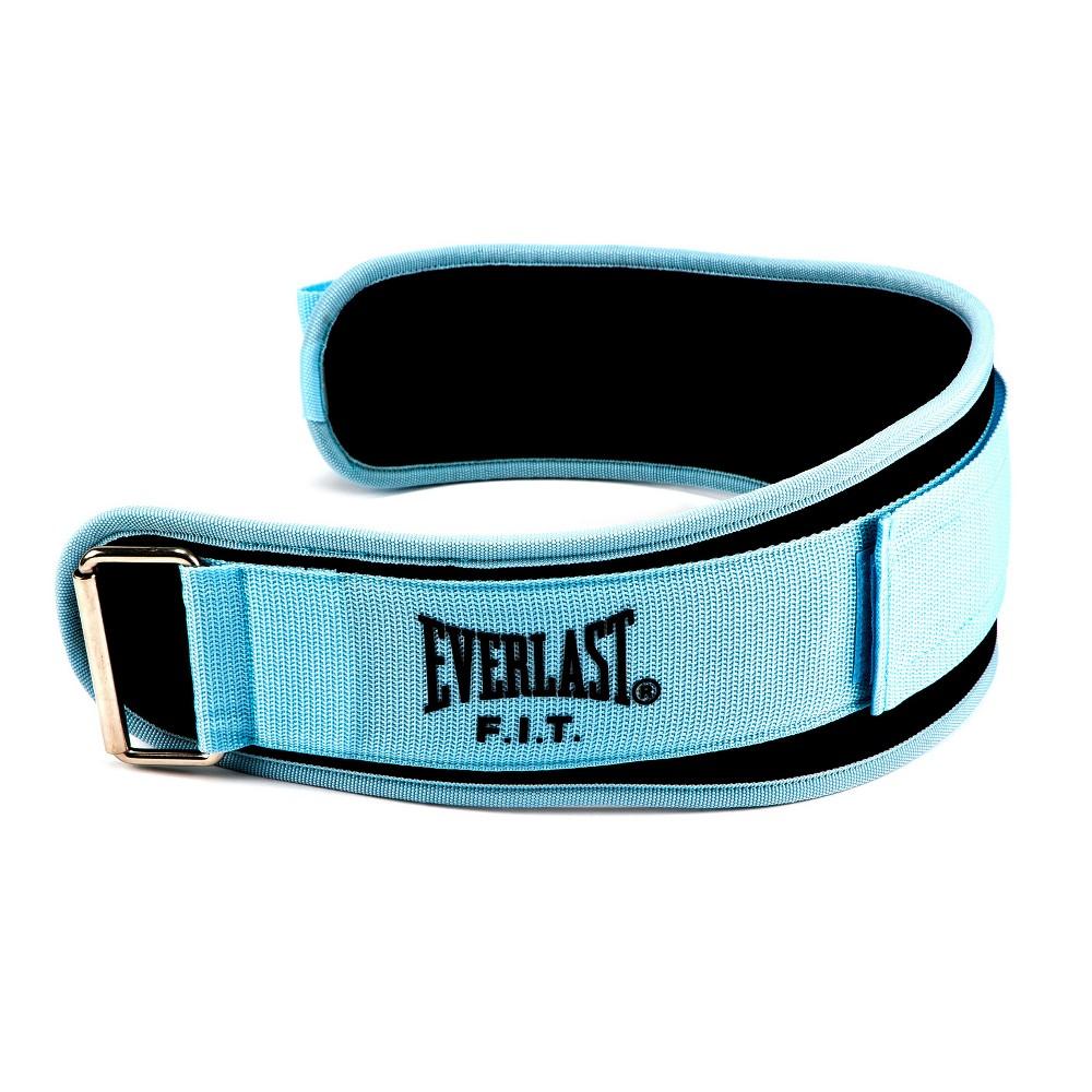Everlast Fit Foam Core Weightlifting Belt M Light Blue
