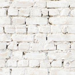 Whitewash Brick Wallpaper