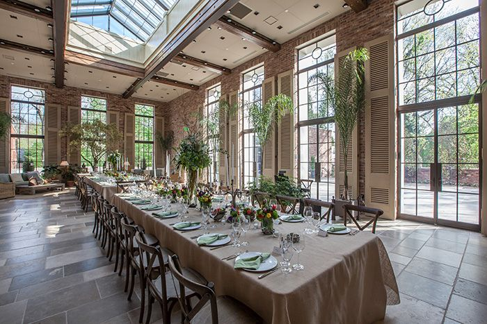 A Burned Out Industrial Warehouse Is Transformed Into Sophisticated First Class Event Venue