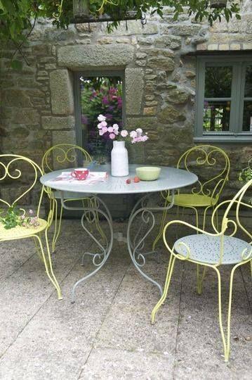 Busca terrazas con toques arabes Inspirarán y deleitarán - Terrazas, con un toque de color y sillas románticas que ...