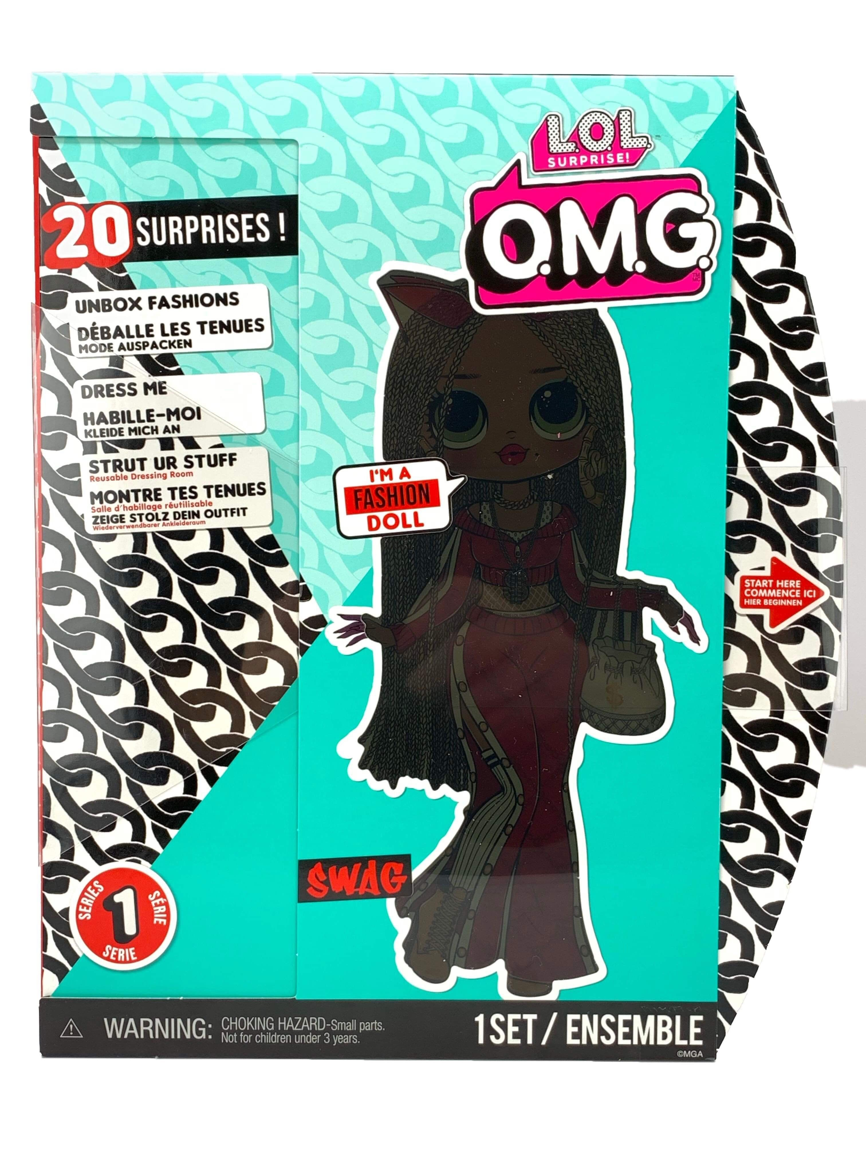 L O L Surprise O M G Swag Fashion Doll With 20 Surprises Lol Omg Lol Fashion Dolls Lol Dolls