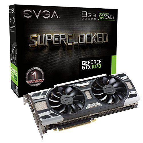 Evga Geforce Gtx 1070 8gb Sc Gaming Acx 3 0 Video Card Pcpartpicker Com Videokarta Tehnologii