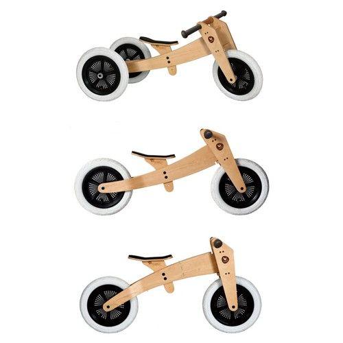 wishbone bike 3-in-1 naturel | ilovespeelgoed.nl