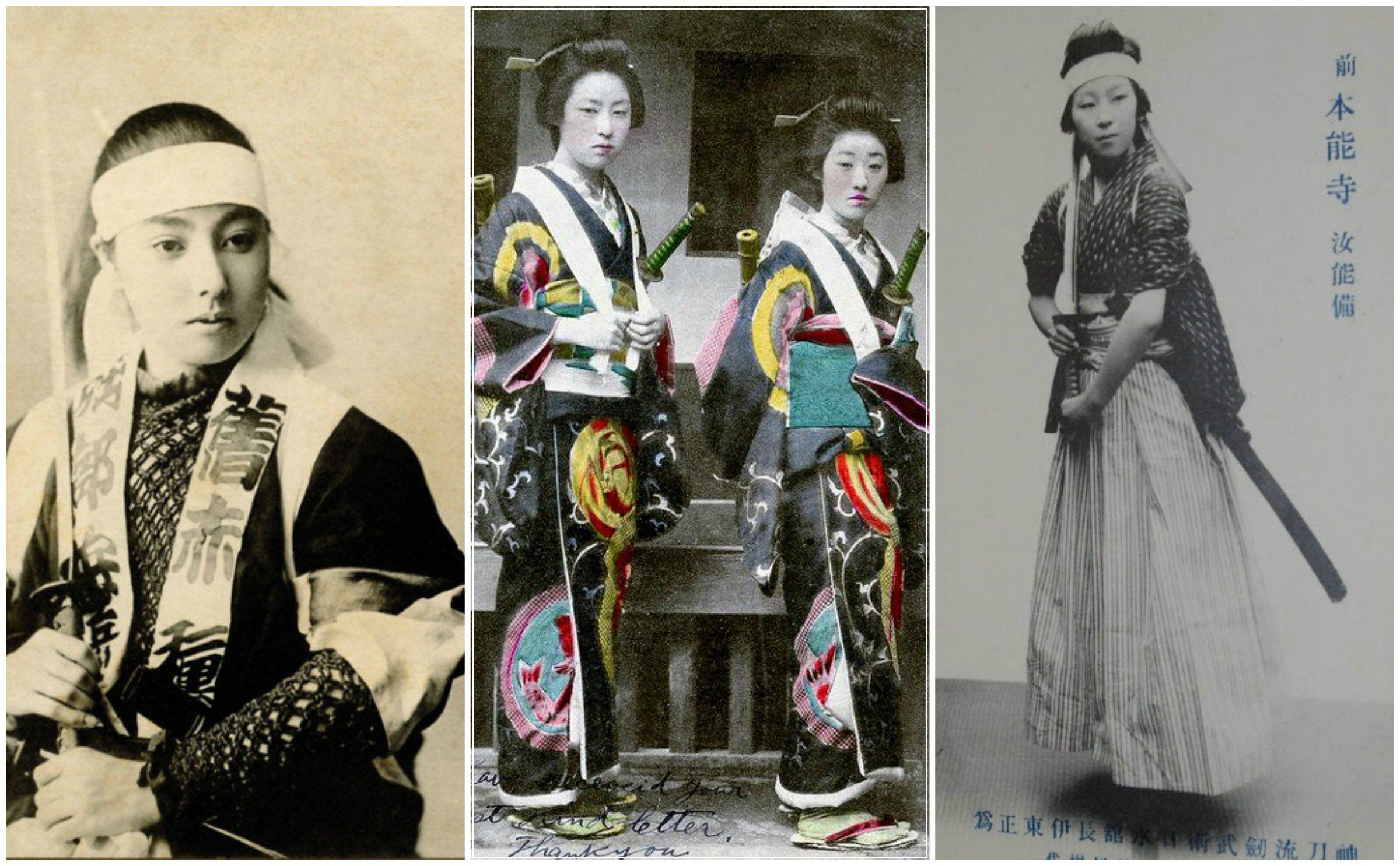 Onna-bugeisha  was a type of female warrior belonging to the Japanese nobility. Many women engaged in battle, commonly alongside samurai men.