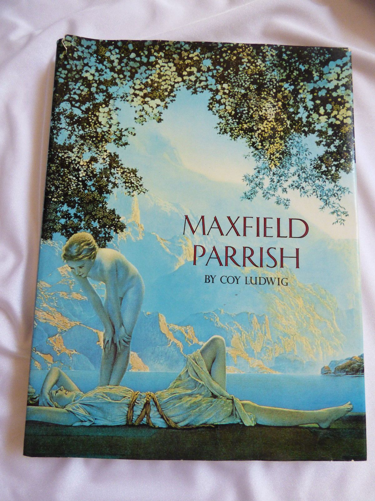Coffee Art History Vtg Maxfield Parrish By Coy Ludwig 3rd Printing 1975