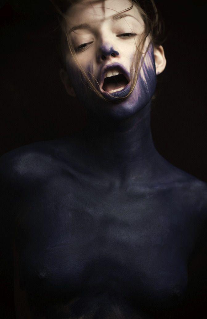 "nevver: "" Everything, painted blue - Mathieu Vladimir ..."