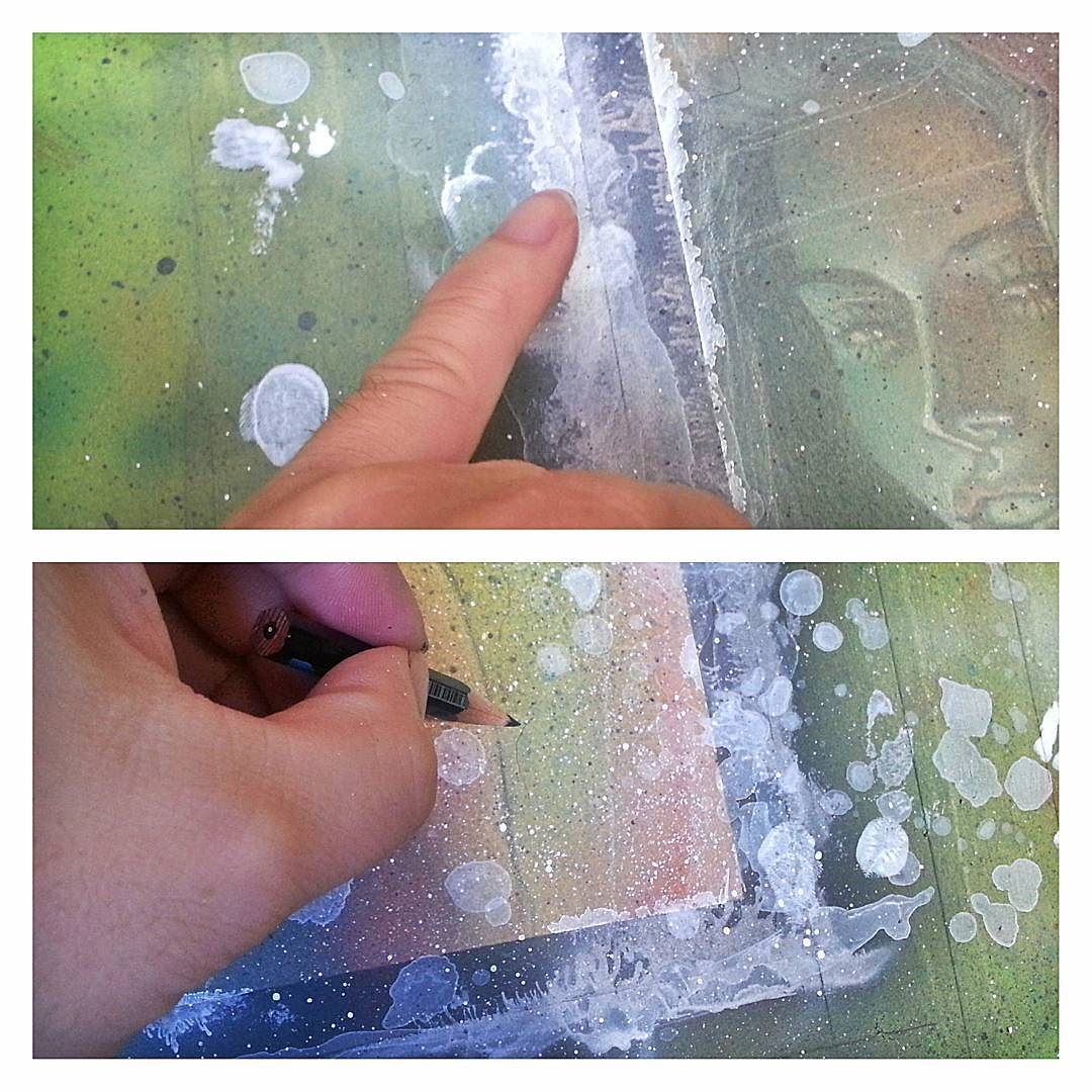 Adding final effects to get the peeled borders look of Polaroid/instant photos as well as old film dust scratches and hairlines.   Date Posted: September 14 2016 at 05:34PM   Posted from my Instagram: http://ift.tt/2d11ucd
