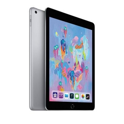 Apple Ipad 9 7 128gb Wi Fi Only 2018 Model 6th Generation Mr7j2ll A Space Gray Apple Ipad Ipad 32gb Ipad