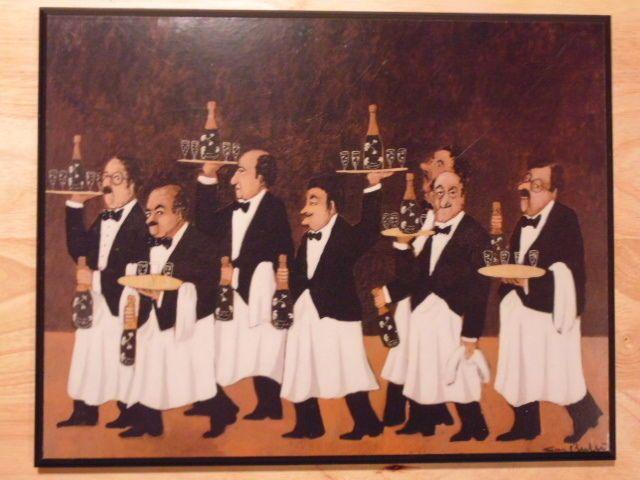 Miraculous Guy Buffet Italian Bistro Wine Waiters Picture Plaque 11 X Download Free Architecture Designs Scobabritishbridgeorg
