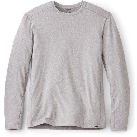 8442659b REI Co-op Men's Sahara Long-Sleeve T-Shirt Opal Gray Heather XL ...