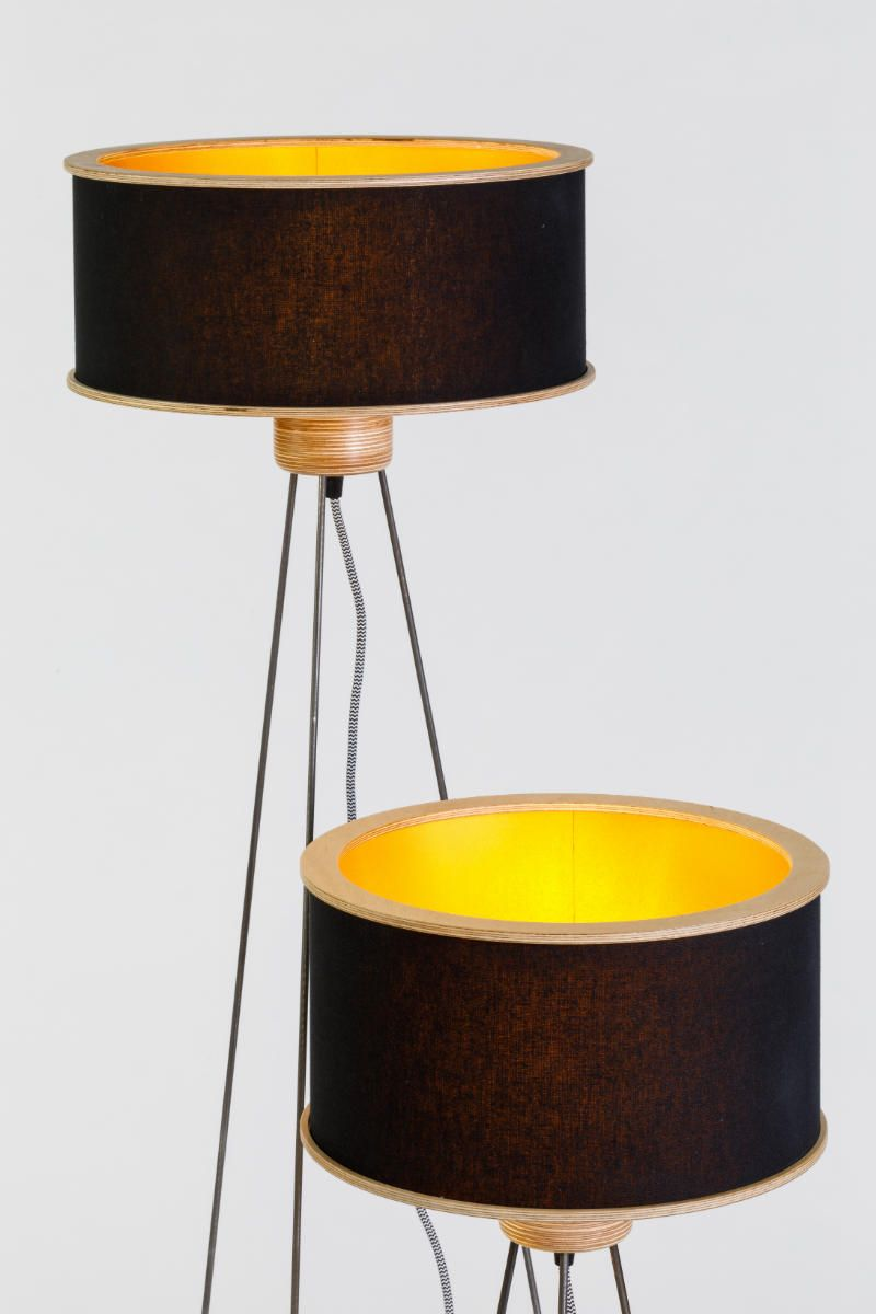 Li.Mod.Spi.F | Lamp, Floor lamp, Lamp shade
