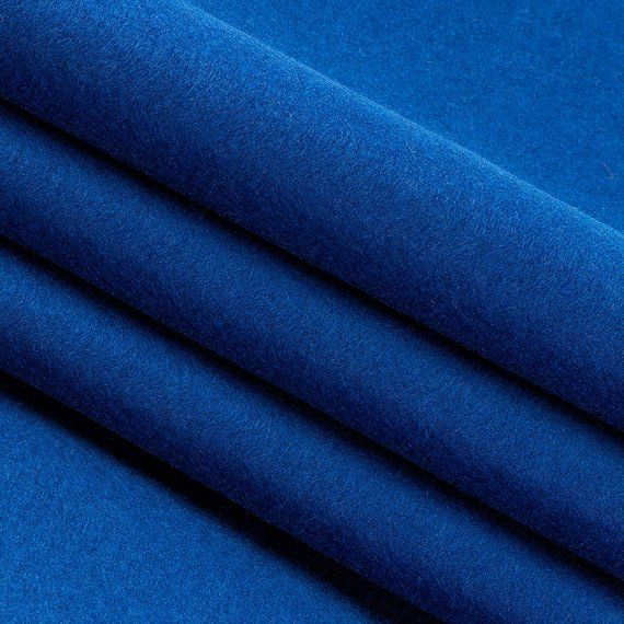 Clearance 100 Wool Felt By Yard Blue 1 2mm Thick 63 Wide Limited Stock Available Wool Felt Wool Crafts Felt