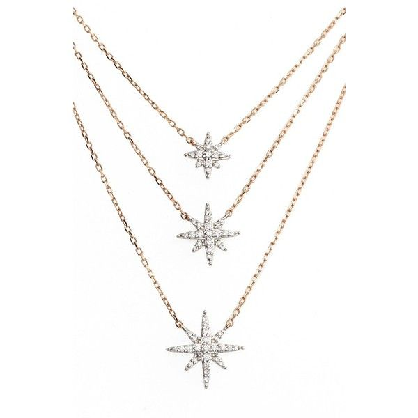 Bony levy ella diamond multilayer star pendant necklace 1795 bony levy ella diamond multilayer star pendant necklace 1795 liked on aloadofball Gallery