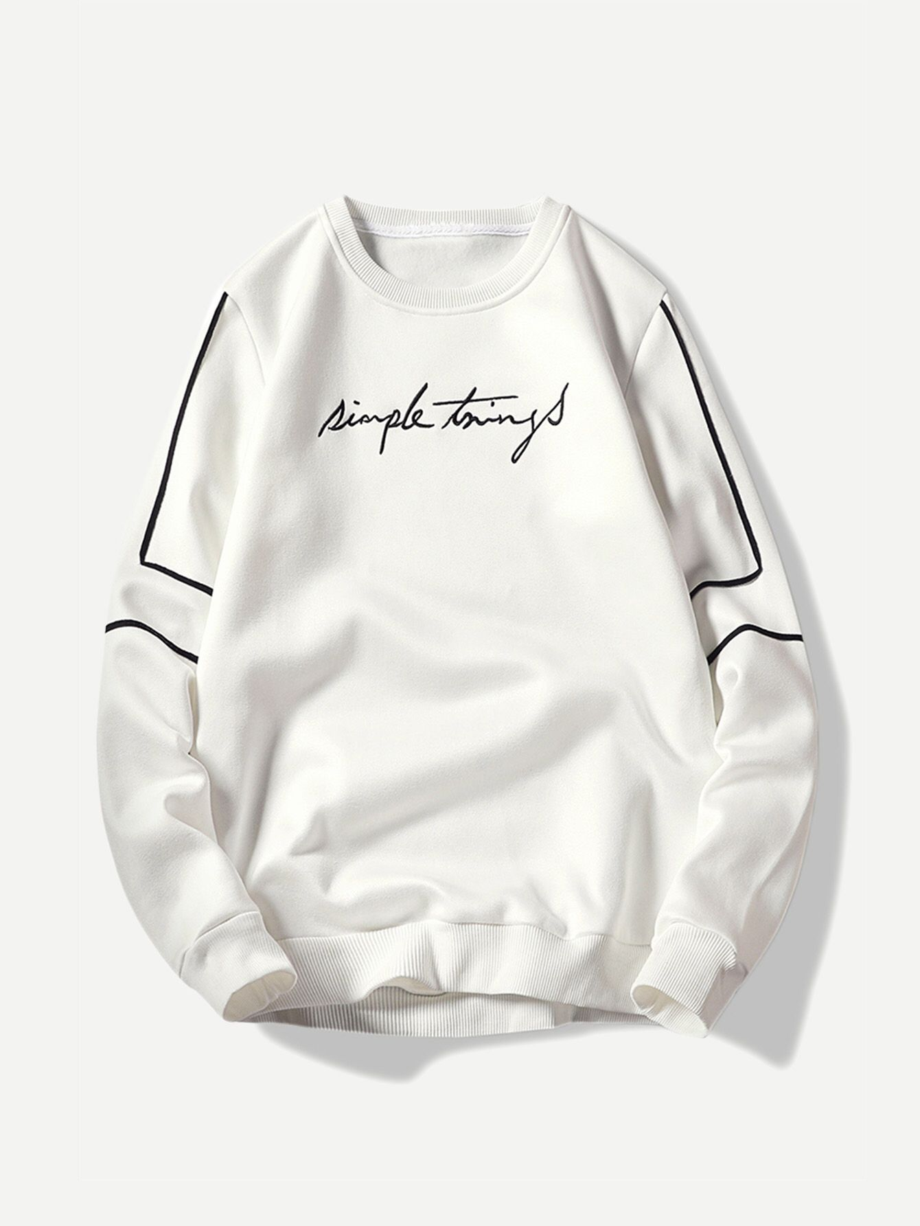 4b04e84479 Men Embroidery Sweatshirt Check out this Men Embroidery Sweatshirt on SHEIN  and explore more to meet your fashion needs!