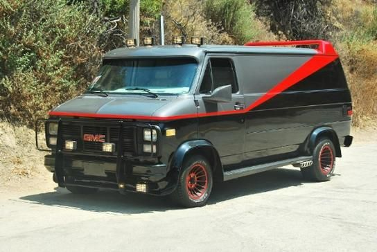 Buy This A Team Van Replica For 20 000 A Team Van Tv Cars Gmc