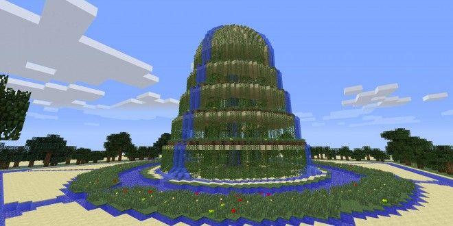 Exceptionnel Waterfall Garden | Minecraft Building Inc