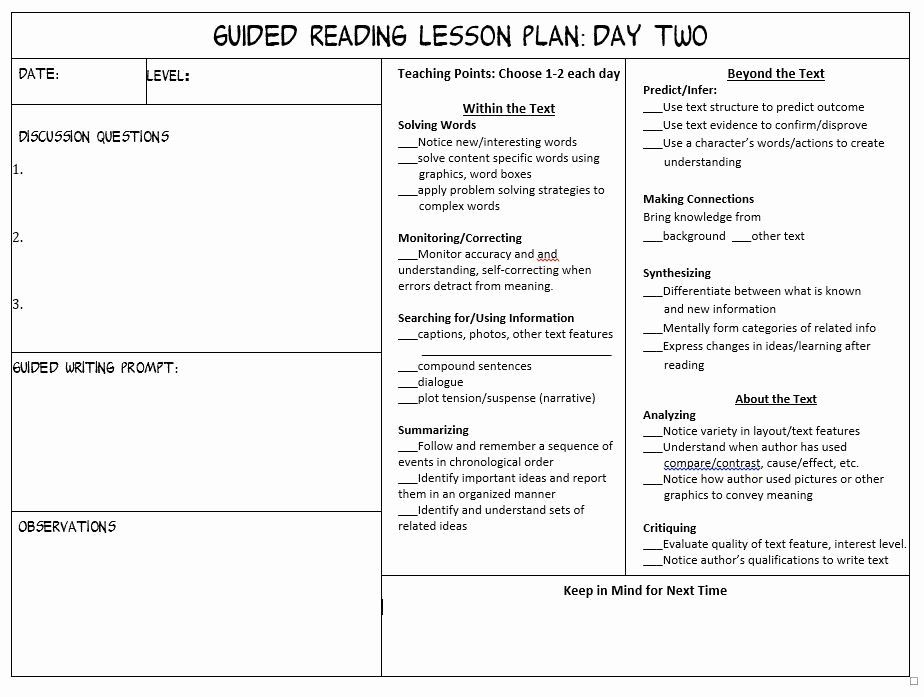 Lovely lesson plan worksheets Most Effective