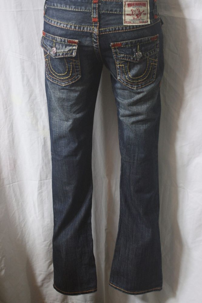 6e271dea8 VINTAGE MENS TRUE RELIGION jeans BOOT CUT Denim w28 L34 made in CHINA f-136   TrueReligion  BootCut