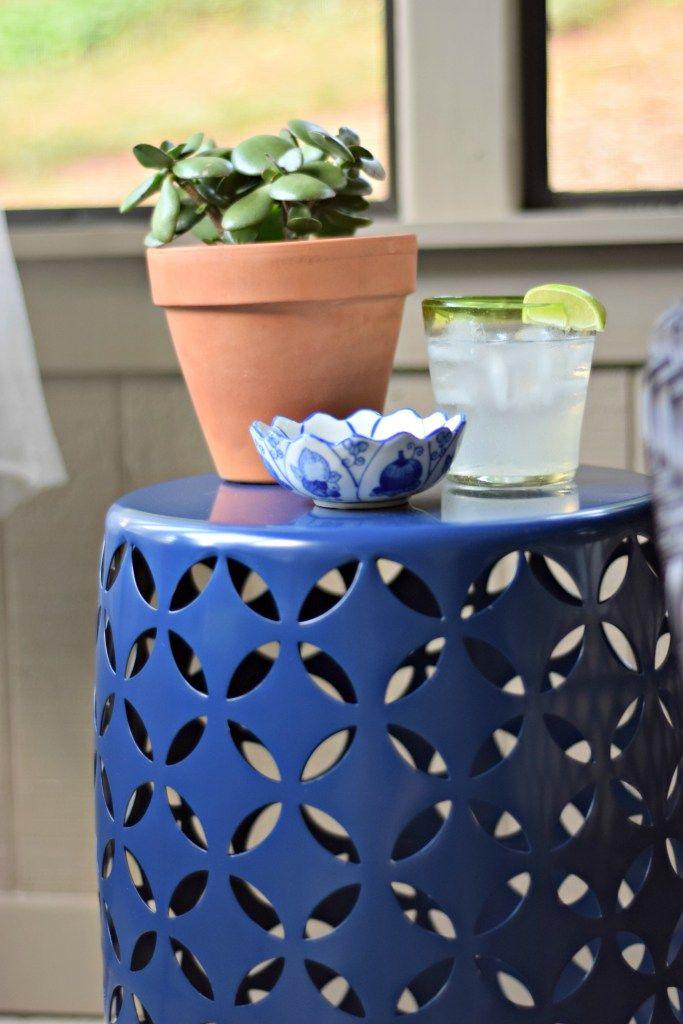 Summer patio decor from Loveland Lodge!