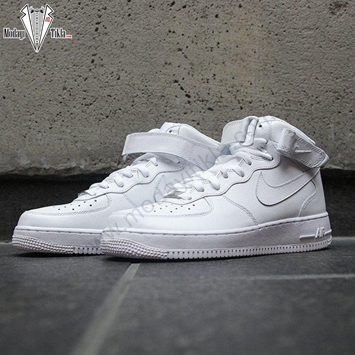 Nike Air Force High Beyaz Bogazli Nike Air Nike Air Force Nike