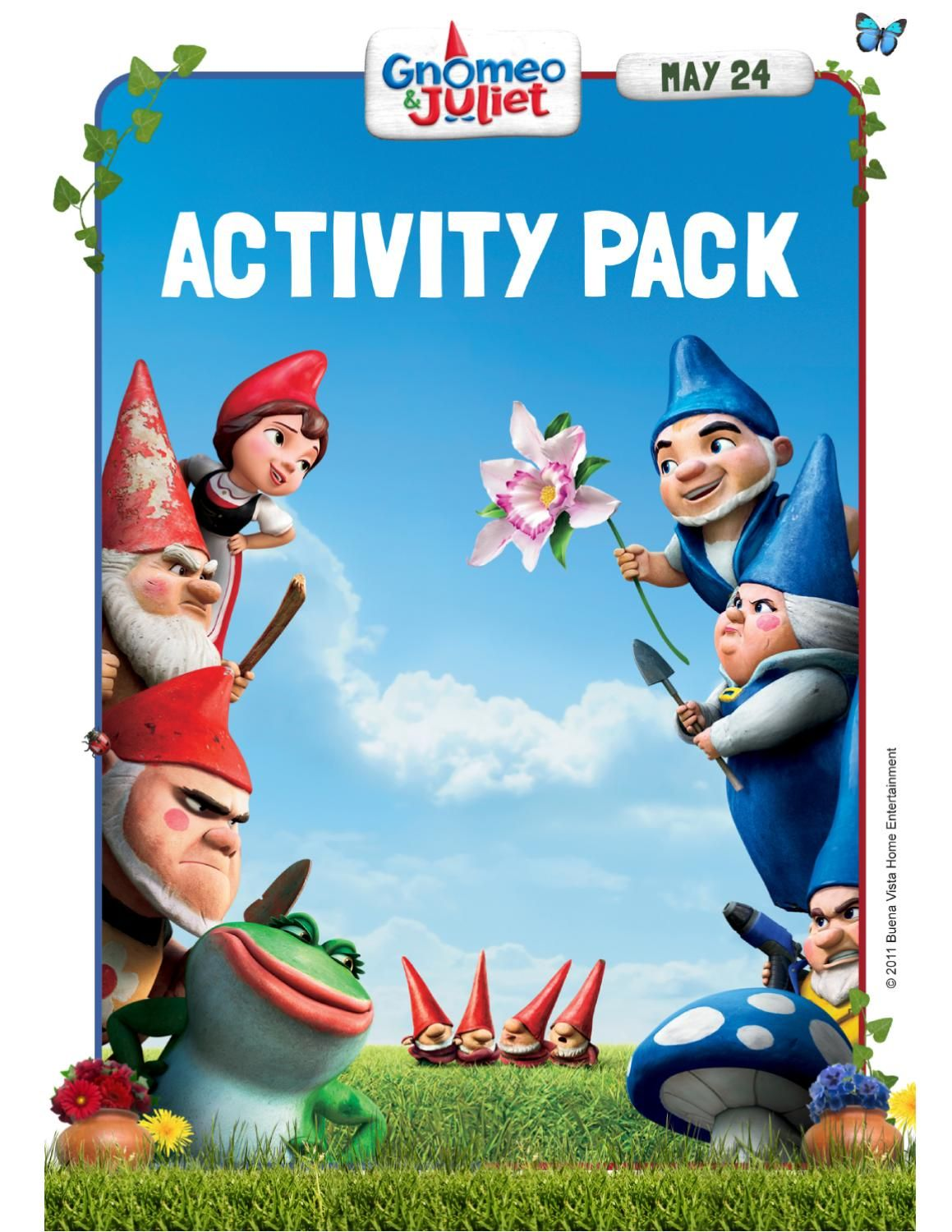Gnomeo And Juliet Printables